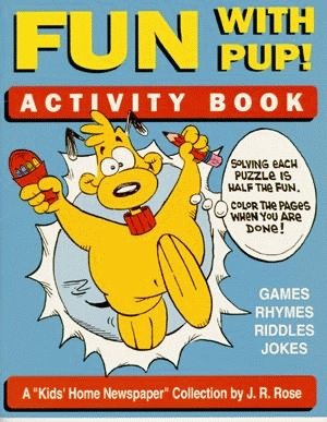 FUN WITH PUP! ACTIVITY BOOK