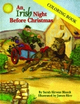 IRISH NIGHT BEFORE CHRISTMAS, AN  COLORING BOOK